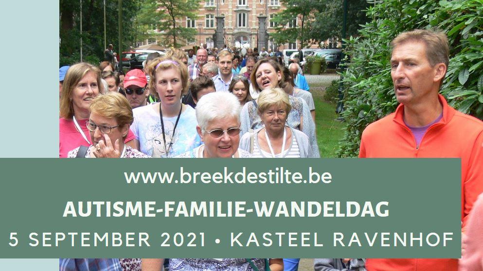 Autisme-familie-wandeldag zondag 5 september 2021