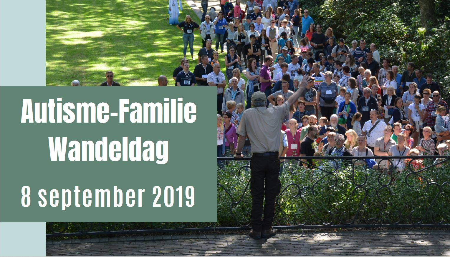 Autisme-familie-wandeldag zondag 8 september 2019